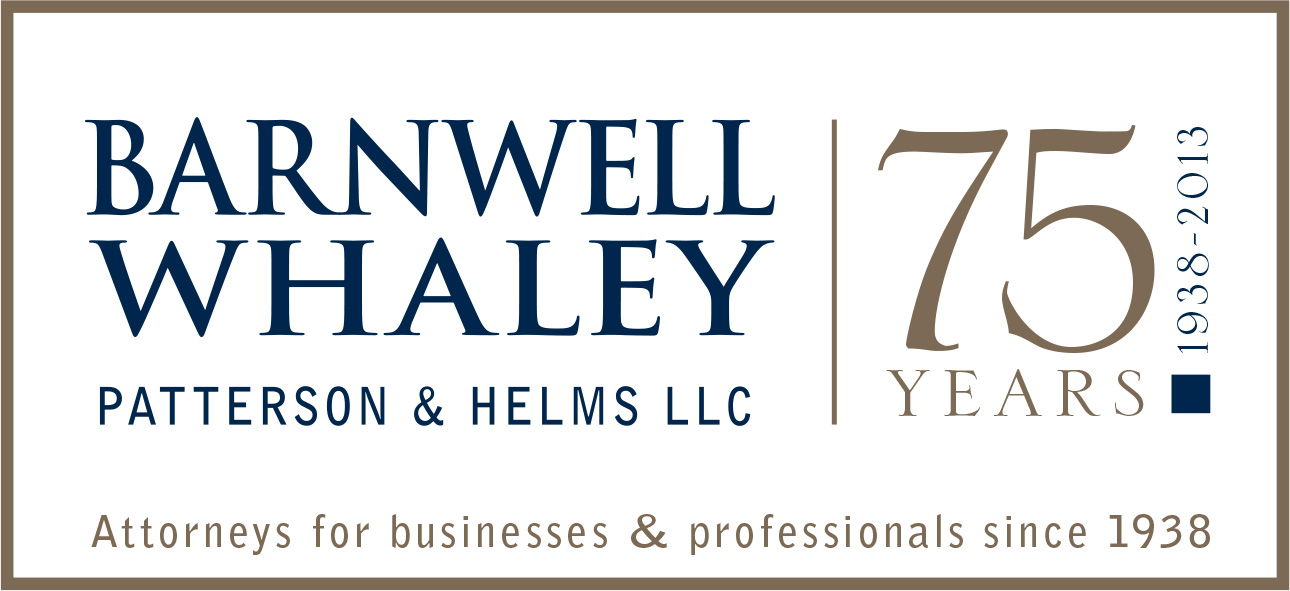 Barnwell Whaley Law Firm Blog
