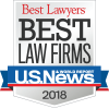 2018 Barnwell Whaley Best Law Firms Badge